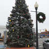 Ken Yuszkus/Staff photo. Danvers: The Danvers Christmas Tree stands in Danvers Square.