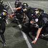 Peabody:<br /> The offensive line goes through plays during the the Bishop Fenwick football team practice. They are getting ready for the Division 5 Super Bowl on Saturday.<br />  Photo by Ken Yuszkus / The Salem News, Monday, December 2, 2013.