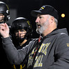 Peabody:<br /> Coach Dave Woods gives instructions during the the Bishop Fenwick football team practice. They are getting ready for the Division 5 Super Bowl on Saturday.<br />  Photo by Ken Yuszkus / The Salem News, Monday, December 2, 2013.