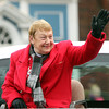 Beverly: Retiring City Councilor Maureen Troubetaris served as the Grand Marshall for the 66th annual Beverly Holiday Parade on Sunday afternoon. David Le/Salem News