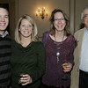 Salem:<br /> From left, Kevin and Leslie Levesque of the Phoenix School, Lori Tremblay of Juice Plus, and Jack Walsh of Dancing Sand, attend the Salem Chamber annual holiday breakfast held at the Hawthorne Hotel.<br /> Photo by Ken Yuszkus/The Salem News, Thursday, December 13, 2012.
