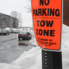 Salem:<br /> The limited parking ban is lifted and now there is a  modified parking ban. The photo is of one of the signs along Washington Street in Salem.<br /> Photo by Ken Yuszkus/The Salem News, Monday, February 11, 2013.