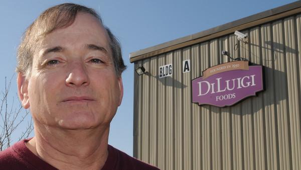 Danvers:<br /> Dean Souza is president of DiLuigi's Foods.<br /> Photo by Ken Yuszkus/The Salem News, Thursday, February 14, 2013.