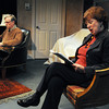 "Salem:<br /> John Archer and Patricia Zaido are starring in ""Love Letters,"" a play that is an exchange of letters between a man and a woman over the course of their lives.<br /> Photo by Ken Yuszkus/The Salem News, Tuesday, February 19, 2013."