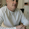 North Andover:<br /> Peter Devereaux is a Peabody native who was diagnosed with stage 3B male breast cancer in January of 2008.<br /> Photo by Ken Yuszkus/The Salem News, Thursday, October 25, 2012.