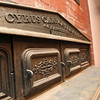 Design along the top of an old stove in one of the short term housing units inside the Coach House at Willowdale Estate. David Le/Staff Photo