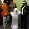 "From left, Mark Pecukonis, of the Beverly Chamber of Commerce, Diane Gavin, Business Liason from R&L Associates, and Fran Dichner, owner of R&L Associates at the Beverly and Peabody Chamber of Commerce's ""Spooktacular."" David Le/Staff Photo"
