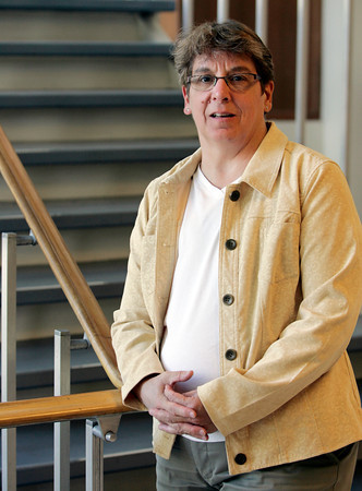 Salem:<br /> Theresa DeFrancis is a breast cancer survivor.<br /> Photo by Ken Yuszkus/The Salem News, Tuesday, October 23, 2012.