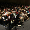 Danvers:<br /> The crowd at the debate at Danvers High School.<br /> Photo by Ken Yuszkus/The Salem News, Wednesday, October 10, 2012.