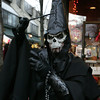 Ashton Synn of Braintree in costume on the pedestrian mall during Halloween in Salem.<br /> Photo by Ken Yuszkus.