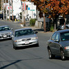 Salem:<br /> Cars drive at an angle while going down Canal Street.<br /> Photo by Ken Yuszkus/The Salem News, Monday, October 22, 2012.
