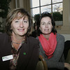 Salem:<br /> Liz White, left, of TD Bank and Maura Murnane of Marblehead Children's Center attend the annual Million Dollar Women symposium held at the Hawthorne Hotel.<br /> Photo by Ken Yuszkus/The Salem News, Wednesday, November 14, 2012.