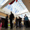 Black Friday shoppers flood the Northshore Mall on Friday morning. David Le/Staff Photo