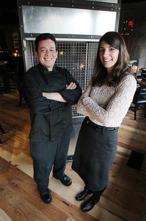 General Manager Nicole Ananian, and Executive Chef Al Quiroz, of the Black Cow Restaurant on Bay Road in Hamilton will be looking to lead the restaurant to success after it was recently reopened. David Le/Staff Photo