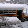 Definitely a snow day! Sent by Holly Carney, bus driver for Ham/Wen Regional School District.