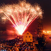 Large crowds gather to celebrate the 4th of July in Salem.  Photo by Mark Teiwes / Salem News