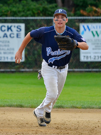 Peabody Babe Ruth 15s All Stars  2012<br /> #5 Tanner Moquin