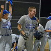 Danvers American Williamsport Shane Smith all smiles after hitting 2 run HR to give his team the victory <br /> District 15 Chamionship Game 2012