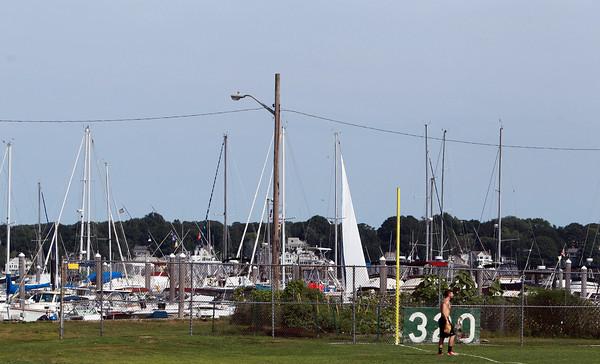 Salem: A view of Palmer Cover Park overlooking Salem Harbor. David Le/Salem News