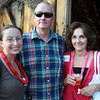 Peabody: From left: Alana Bresnahan, John Healey, and Marianne Pantelakis, at the Peabody Area Chamber of Commerce's summer networking event held at Smith Barn at Broooksby Farm on Wednesday evening. David Le/Salem News