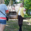 Salem: Mark O'Donald, a historical interpreter works as a tour guide at Pioneer Village which will run a regular 3-tour schedule Friday-Sunday. Pioneer Village, formerly run by Gordon College, was taken over by the City of Salem and is now being run by staff from the city-owned Witch House. David Le/Salem News