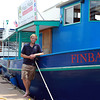 Salem: Will Cole, owner of Mahi Mahi Harbor Cruises, operates two boats, the Hannah Glover, and the Finback. David Le/Salem News