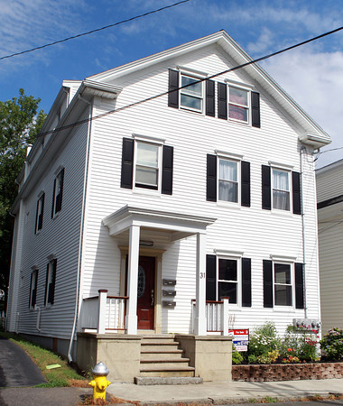 Salem: The first floor unit of this house located at 31 Hazel St. in Salem is for sale. David Le/Salem News