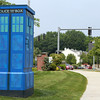 """Salem: Following an outcry from """"Who"""" fans, the City of Salem has stated the electrical box located at the intersection of Bridge St and St. Peter St. will not be repainted. David Le/Salem News"""