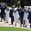 Wenham:<br /> Hamilton-Wenham graduates walk in line to enter the Gordon College Chapel at the start of their graduation exercise at noon on Sunday.<br /> Photo by Ken Yuszkus/Salem News, Sunday, June 5, 2011.