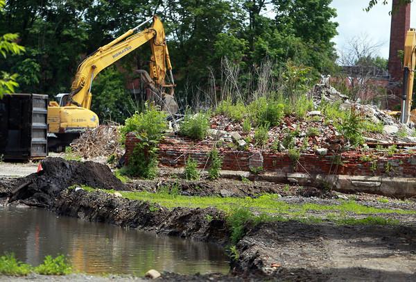 Salem: The site of the former Salem Suede factory at 72 Flint St. David Le/Salem News