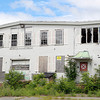 Salem: The old Salem Oil and Grease plant at 60 Grove St. is abandoned and overgrown. David Le/Salem News