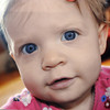 Danvers:<br /> Saoirse is 9 1/2 months old in this photo. Her mother Kezia Fitzgerald pledges to shave her head after losing her 18 month old daughter Saoirse to neuroblastoma, a form of pediatric cancer.<br /> Photo by Ken Yuszkus, Salem News, Tuesday, June 4, 2013.