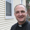 Salem:<br /> Father Dan Riley is the new pastor for Salem and has moved into the Immaculate Conception Church in Salem.<br /> Photo by Ken Yuszkus, Salem News, Monday, June 3, 2013.