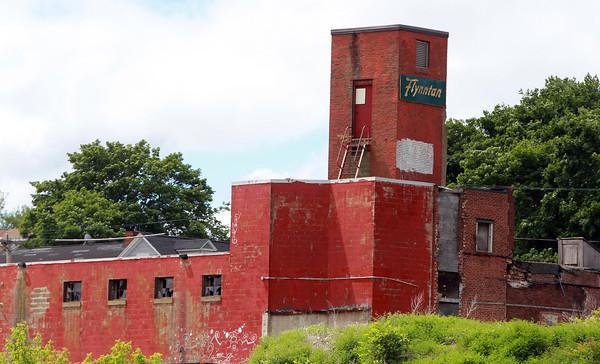 Salem: The Flynntan factory seen from Grove St. David Le/Salem News