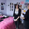 Danvers:<br /> Co-founder Angelina Kalafatis, left, and her mother, co-founder/director Emily Korkaris speak about their LITEhouse, Inc. home while standing in one of the bedrooms of the home.<br /> Photo by Ken Yuszkus/The Salem News, Friday, March 22, 2013.