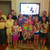 "Tina Keeve, second from right, of Cumming, Ga., shares this photo  from her recent ""American Idol"" viewing party. The group, made up of friends and cousins of Miller's mother Tana, gathers each week to cheer Miller on. Courtesy photo"
