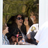 AMY  SWEENEY/Staff photo<br /> American Idol Angie Miller tweets to her fans from her home before she starts her American Idol journey of a parade and concert at Beverly High School.