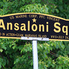 Salem: Salem's new veteran's agent is starting a project to re-dedicate and put up new signs at veteran's squares around the city. A sign for Ansaloni Square at the corner of Crombie and Norman Streets. David Le/Salem News
