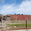 Salem: There has been some work done to fix the empty lot in between the Hess Station and Nightmare Gallery on Derby St. in Salem. David Le/Salem News