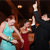 Salem: From left, Salem High School students Marlena Udden, Katie Dube, and Vinny Sisneros dance in the middle of the ballroom during the Salem High Prom at the Danversport Yacht Club on Friday evening. David Le/Salem News