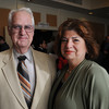Danvers:<br /> Lynn English High School teachers William McHugh and Loretta Christoforo attend the Chamber of Commerce Honors Scholar dinner, honoring the region's top graduating high school scholars, held at the Double Tree Hotel.<br /> Photo by Ken Yuszkus/Salem News, Tuesday June 14, 2013.
