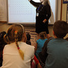 Danvers:<br /> Elementary math specialist Julie Posternack use the Interactive whiteboard to boost math skills in a 2nd grade classroom at the Smith School in Danvers.<br /> Photo by Ken Yuszkus/Salem News, Thursday June 9, 2013.