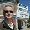 Beverly:<br /> David Bull stands in front of his Cabot Street Cinema Theatre which up for sale.<br /> Photo by Ken Yuszkus/Salem News, Wednesday June 15, 2013.