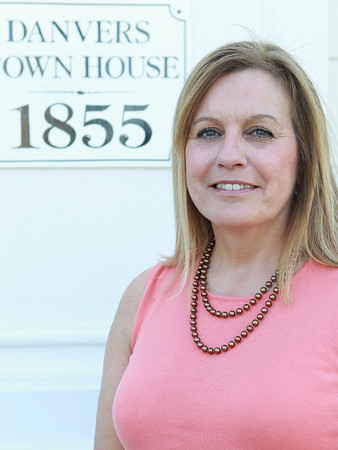 Danvers: Newly appointed Danvers Selectman Diane Langlais replaced the vacancy left by former Selectman Mike Powers. David Le/Salem News