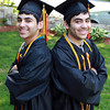 Beverly: Twins Adi, left, and Idan Davidyan, graduating seniors at Beverly High School, are Valedictorian and Salutatorian and will give the Valedictory address together on Sunday afternoon. David Le/Salem News