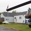 Beverly: The City of Beverly is seeking proposals to knock down this building at Beverly Airport, which houses Something Different Cafe, and other businesses, and replace it with a two-story building with a restaurant, pilot's lounge and aviation museum. David Le/Salem News