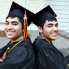 Beverly: Twins Adi, right, and Idan Davidyan, graduating seniors at Beverly High School, are Valedictorian and Salutatorian and will give the Valedictory address together on Sunday afternoon. David Le/Salem News