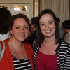 "Danvers:<br /> Briscoe Middle School teachers Aileen Noonan, left, and Lauren Seabrook attend the Beverly Teachers Association ""Celebration of Excellence"" champagne reception held at the Danversport Yacht Club.<br /> Photo by Ken Yuszkus/Salem News, Tuesday June 7, 2013."