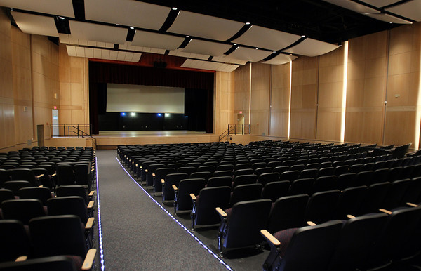 Aug. 29, 2012: A view of the new auditorium at Danvers High School. <br /> David Le/Staff Photo