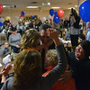 Beverly: Jerry Parisella is surrounded by his fmaily and supporters after winning the Beverly state representative election.   photo by Mark Teiwes / Salem News